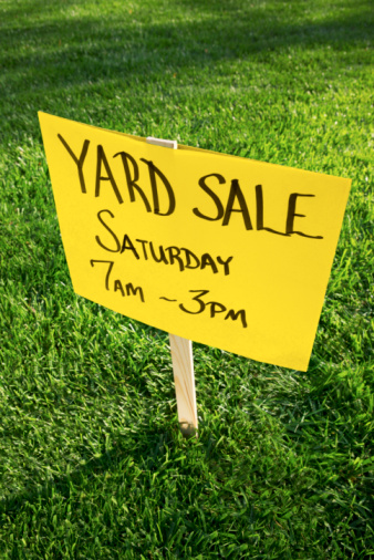 How to Pay Your Bills Through Yard Sales!