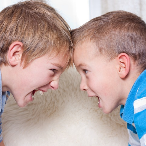 Siblings Fight Differently Than Friends